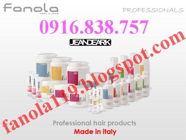 Fanola - Bộ dầu gội, hấp dầu, tinh dầu chăm sóc tóc hoàn hảo