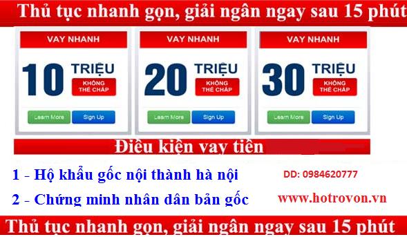 Vay tien nong 10 phut co tien - Financial Service - Ho Chi ...
