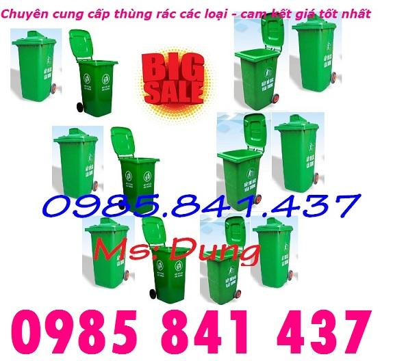 Bán thùng rác 240 lít giá cực rẻ - số lượng có hạn - lh 0985 841 437
