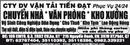 Tp. Hồ Chí Minh: CTY DV VẬN TẢI TIẾN ĐẠT Phục Vụ 24/24-Chuyển nhà * Văn phòng*Kho xưởng CAT246_255_309