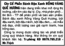 Tp. Hồ Chí Minh: Cty Cổ Phần Bánh Đậu Xanh RỒNG VÀNG QUÊ HƯƠNG hiện đang triển khai mở rộng CL1063646P2