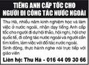 Tp. Hà Nội: Tiếng Anh Cấp Tốc Cho Người Đi Công Tác Nước Ngoài CL1062047