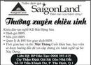 Tp. Hồ Chí Minh: SaigonLand Thường xuyên chiêu sinh CL1002895
