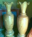 Tp. Đà Nẵng: Bán cặp lộc bình bằng gỗ mun CL1002890
