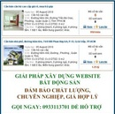 Tp. Hồ Chí Minh: Thiết kế website bất động sản chuyên nghiệp giá hợp lý! CL1091091