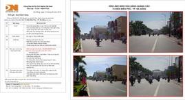 Cho thuê pano quảng cáo ngoài trời tại TT TP Đà Nẵng. thuận tiện cho việc quảng