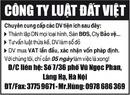 Tp. Hà Nội: Công Ty Luật Đất Việt Chuyên cung cấp các DV tiện ích sau đây: CL1002948