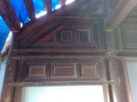 Bán khung nhà gỗ cổ - Lá Mái 3 gian 2 chái