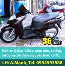 Tp. Hà Nội: Dylan 125cc màu nâu, xe đẹp, SD cẩn thận, nguyên bản, giá 36 triệu CL1002950