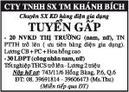 Tp. Hồ Chí Minh: CTy TNHH sx tm Khánh Bích CL1002979