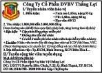 Cơng Ty Cổ Phần DVBV Thắng Lợi Cần Tuyển