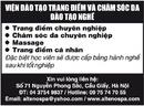 Tp. Hà Nội: Viện Đào Tạo Trang Điểm Và Chăm Sóc Da CL1022477