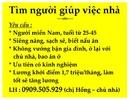 Tp. Hồ Chí Minh: Tìm người giúp việc nhà cho 2 vợ chồng trẻ CL1174433