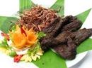 Tp. Hải Phòng: Thịt lợn thịt bò xông khói đặc sản dân tộc Thái lần đầu tiên xuất hiện ở HP CL1110253P8