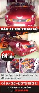 Tp. Hà Nội: Bán xe Sport Ford, 2 cánh, màu đỏ đậm, bô nổ cực ròn, giá 64 triệu, chỉ bán cho CL1003896