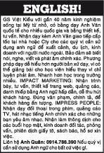 GS Việt Kiều với gần 40 năm kinh nghiệm sống tại Mỹ từ nhỏ.Nhận dạy kèm Anh Văn
