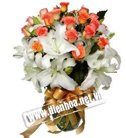 Dạy cắm hoa từ căn bản đến nâng cao - Tư vấn mở Shop Hoa miễn phí
