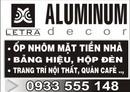 Tp. Hồ Chí Minh: Ốp nhôm - Bảng hiệu - Trang trí nội thất CL1006904