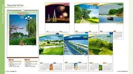 Lịch treo tường, lịch năm mới, lịch tân mão