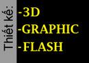 Tp. Hồ Chí Minh: Nhận thiết kế Flash website, thiết kế 3d và thiết kế đồ họa. CL1007543