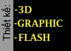 Nhận thiết kế Flash website, thiết kế 3d và thiết kế đồ họa.
