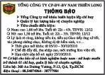 Tổng Công Ty CP- DV – BV Nam Thiên Long
