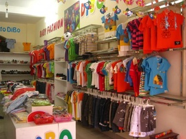 Thanh lý cửa hàng thời trang trẻ em