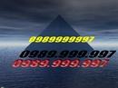 Bắc Giang: Bán sim số : 0989999997. CL1008748