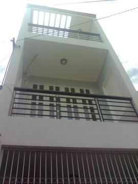 Cho Thuê NC Huỳnh Khương Ninh Q1(8x 15m) 1 trệt, 3 lầu, 9 phòng.Nhà mới đẹp