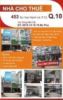 Tp. Hồ Chí Minh: Nhà CHO THUÊ nguyên căn 453 Sư Vạn Hạnh nd, P.12, Q.10 CL1005909