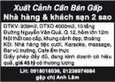 Tp. Hồ Chí Minh: Xuất Cảnh Cần Bán Gấp Nhà hàng & khách sạn 2 sao RSCL1114819