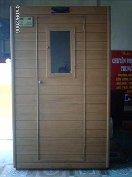 Cần bán giường gỗ thịt 100% mới và bồ xông hơi khô