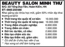 Tp. Hà Nội: Beauty Salon Minh Thư Khai giảng các khóa học mới, giảm 50% nhân dịp khai trương CL1006210