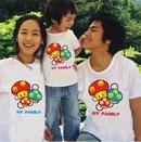 Tp. Hà Nội: Áo Đôi tình nhân, gia đình, đồng phục, giá rẻ nhất hn hiện nay, clieu 100% cotton CAT18_214_222