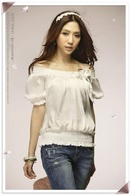 Tiền Giang: Áo kiểu kết hợp được với váy, tất cả các loại quần... hàng đang có sẳn, giá mềm CL1007132