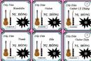 Tp. Hồ Chí Minh: Dây đàn guitar - mandolin - violin - tranh - bầu - bán tất cả các loại dây đàn CL1164935P6