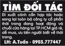Tp. Hồ Chí Minh: Đi xuất cảnh cần hợp tác hoặc sang lại toàn bộ công ty cổ phần thời trang CL1002989