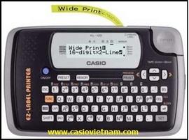 Máy in nhãn Casio (KL - 120) www.casiovietnam.com