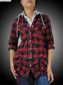 Tp. Hồ Chí Minh: Áo khoác nữ nhãn hiệu B69 , nón rời có dây rút ở eo và ben ngực CAT18P8