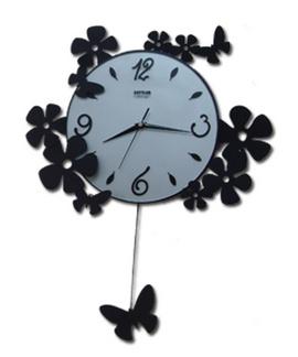 Đồng hồ treo tường nghệ thuật bằng sắt độc ..độc...