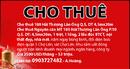 Tp. Hồ Chí Minh: Cho thuê 180 Hải Thượng Lãn Ông Q.5, DT 4,5mx20m CAT1P4