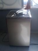 Tp. Hồ Chí Minh: Bán máy giặt cũ giá rẻ, hiệu SANYO, lồng Inox nghiêng, hình thật 98%, bán & BH tại CL1020701