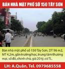 Tp. Hà Nội: Bán nhà mặt phố số 150 Tây Sơn, DT 96 m2, MT 4,2m, gần trường học, trung tâm RSCL1674968
