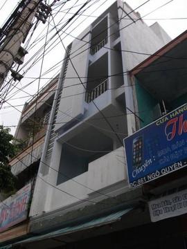 Cho thuê nhà 5 tầng đường ngô quyền