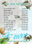 Tp. Hà Nội: Thực đơn/menu, công ty in thực đơn, menu chuyên nghiệp RSCL1066438