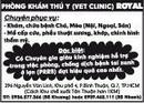 Tp. Hồ Chí Minh: Phòng Khám Thú Y (Vet Clinic) Royal CAT246