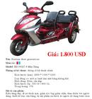 Tp. Hà Nội: Bán xe máy 3 bánh cao cấp, nhập khẩu nguyên chiếc, cho thương binh, CL1015195