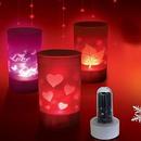 Tp. Hải Phòng: Chuyên bán các loại nến điện tử đổi màu, nến hình tình yêu ( nến cảm ứng ) CL1087755
