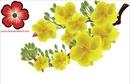 Tp. Hồ Chí Minh: Hoa mai vector - Cành mai vector - Hoa văn decal - trang trí tết !!! CL1002738