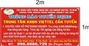 Tp. Hồ Chí Minh: Tập Đoàn Viettel - Chi nhánh Viettel HCM - Thông báo tuyển dụng CL1016010